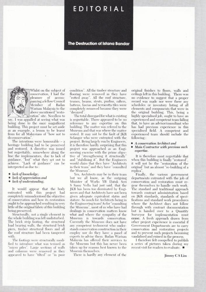 53 editorial Destruction of Istana Bandar